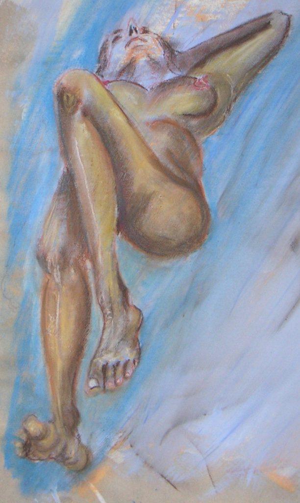 Relaxed  50 x 70 cm, Acryl