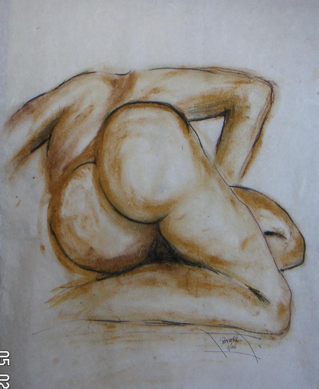 Kraftvoll  100 x 100 cm, Acryl