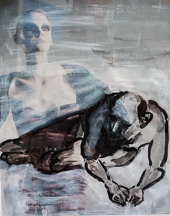 Übermalung, Der Starke... 50 x 60 cm, 2014